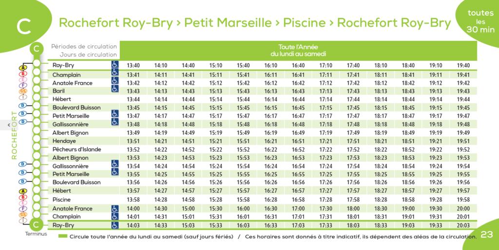 Bus Rochefort