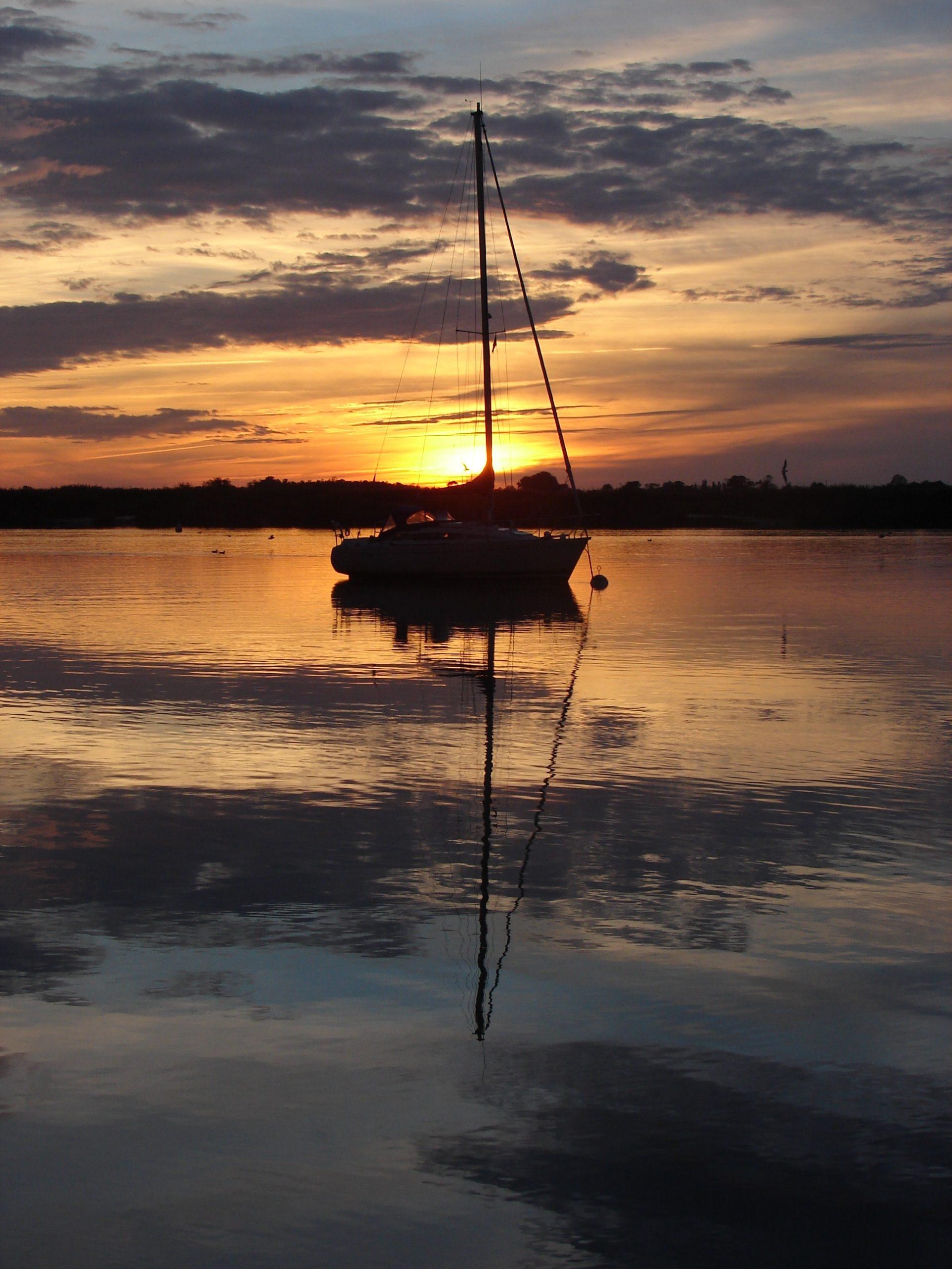 Superbes couchers de soleil Charente
